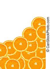 תפוז, פרוסות