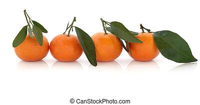 תפוז של מנדרינה, פרי