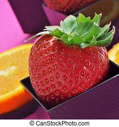 תפוז, תותי שדה, פרוסות
