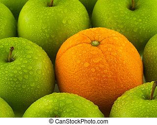 תפוז, תפוחי עץ