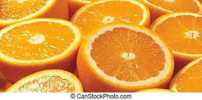 תפוז, תקציר, פרוסות, רקע, citrus-fruit