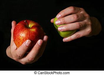 תפוחי עץ, רטוב