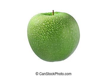 תפוח עץ ירוק, רטוב