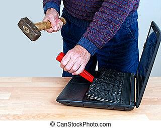 תקן, זה, מושג, מדגיש, -, טכנולוגיה של מחשב