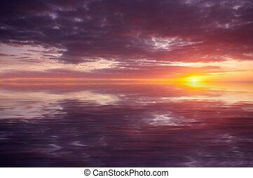 תקציר, אוקינוס של שקיעה