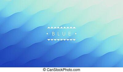 תקציר, דוגמה, וקטור, רקע., השקה, design., surface., כחול