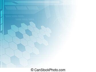 תקציר, טכנולוגיה, כחול, רקע.