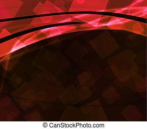 תקציר, טק, רקע אדום