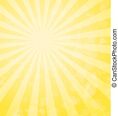 תקציר, קרנות, רקע, צהוב