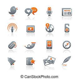 &, תקשורת, /, blog, גרפיט, סידרה, חדש