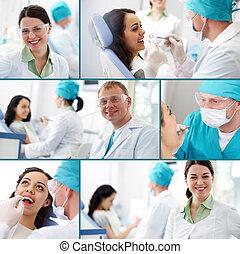 תרגול של השיניים