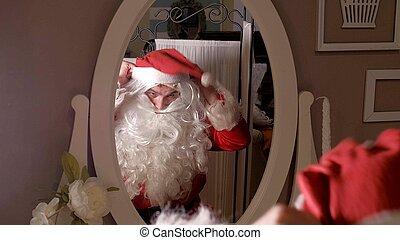 あなたの, 服, サンタの スーツ