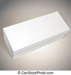あなたの, 箱, 8., パッケージ, 上に, eps, イラスト, デザイン, 置かれた, ベクトル, テンプレート, ブランク, 増加しなさい, モード, イメージ, パック