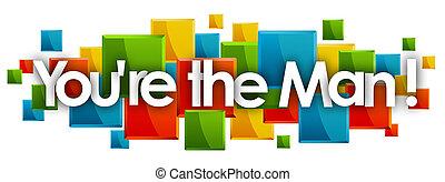 ∥あなたを∥ひれ伏している∥, 人, 長方形, 単語, カラードの背景