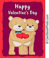 あなた, そして, 私, ポスター, ∥で∥, 熊, 恋人, 保有物, 心