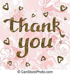 あなた, 大理石, 金, 感謝しなさい