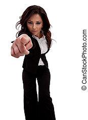 あなた, 女性の指すこと, ビジネス, 指