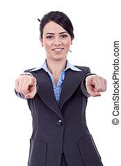あなた, 女性ビジネス, 指すこと
