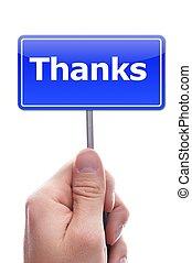 あなた, 感謝しなさい