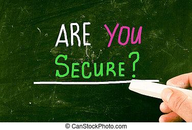 ありなさい, あなた, secure?