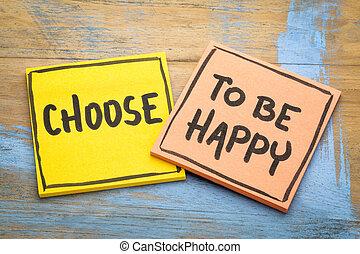 ありなさい, アドバイス, 選びなさい, 幸せ