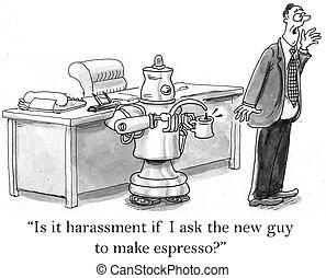 ありなさい, コーヒー, エスプレッソ, ロボット, 缶, ない, について, 作り, 尋ねられた