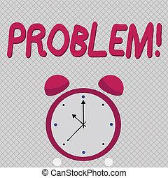 ありなさい, 概念, 単語, ビジネス, problem., テキスト, 執筆, 解決された, complication., 必要性, 状態, 悩み, 困難