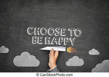 ありなさい, 概念, 選びなさい, 幸せ