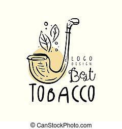 ありなさい, 煙, 使われた, 紋章, 店, タバコ, クラブ, イラスト, 手, gentlemens, ベクトル, プロダクト, 缶, 背景, 引かれる, ロゴ, 白, デザイン, 最も良く