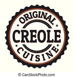 ∥あるいは∥, オリジナル, creole, 切手, ラベル, 料理