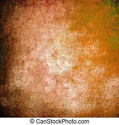 ∥あるいは∥, グランジ, 手ざわり, オレンジ背景, 壁, ペンキ