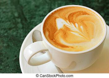 ∥あるいは∥, コーヒー, カプチーノ, スプーン, latte