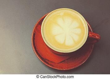 ∥あるいは∥, フィルター, レトロ, カプチーノ, latte, コーヒー, 効果