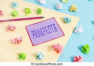 ∥あるいは∥, ペーパー, 有色人種, 青, 空, 潜在性, 提示, 仕事, 顧客, しわくちゃになった, メモ, 写真, clothespin., ビジネス, ポジション, 手の執筆, バイヤー, テキスト, 概念, prospects., 候補者, 黄色