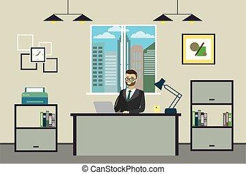 ∥あるいは∥, 仕事, ビジネスマン, 現代, オフィス, 漫画, 家