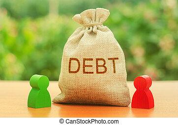 ∥あるいは∥, 碑文, 義務, debt., 拒否, 再構成, リターン, 負債, 人々。, debts., 人, 数字, 袋, 立つ, ∥間に∥, 財政, 教訓, unclosed, 2, 換金