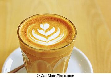 ∥あるいは∥, 芸術, カップ, カプチーノ, latte, コーヒー