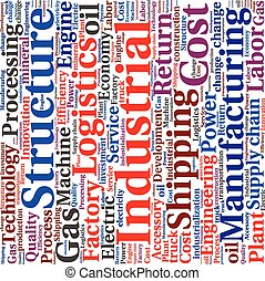 ∥あるいは∥, 雲, テキスト, 産業, ロジスティクス, 概念, tagcloud, 単語