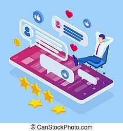 ∥あるいは∥, sms, 媒体, ビジネスマン, 社会, フォーラム, 会話, レビュー, オンラインで, ommunication, 等大, コンサルタント, インターネット, メッセージ, 対話, 談笑する
