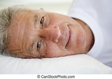 あること, ベッド, 人