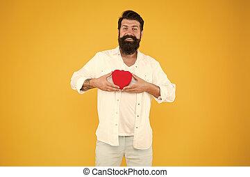 ある, 祝いなさい, ロマンス語, 正直, day., heart., 愛, 寛大である, 情報通, lover., 誠実, シンボル。, you., 広がり, love., 赤, 人, around., 心, バレンタイン, concept., toy., 共有, ロマンチック
