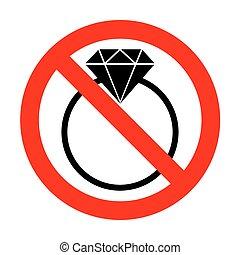いいえ, ダイヤモンド, illustration., 印
