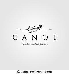 いかだで運ぶこと, ロゴ, デザイン, カヤックを漕ぐ