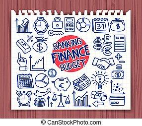 いたずら書き, 金融, アイコン