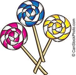 いたずら書き, lollipop