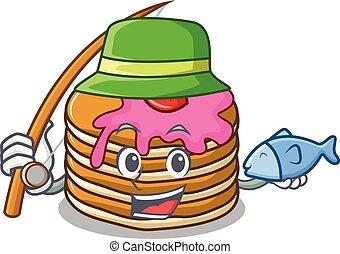 いちご, マスコット, 釣り, パンケーキ, 漫画