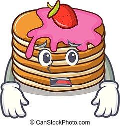 いちご, 恐れている, 漫画, パンケーキ, マスコット