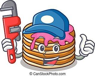 いちご, 配管工, 漫画, パンケーキ, マスコット
