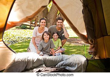 うれしい, 家族のキャンプ, 公園