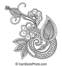 えりぐり線, デザイン, 刺繍